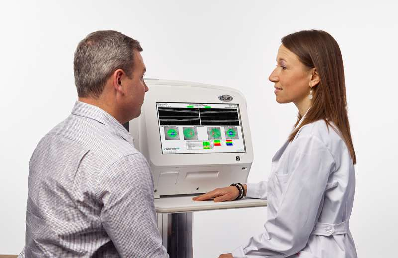 specialized eye tests oct scan eye iwellness i scan boca raton