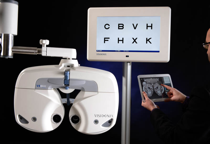phoropter technology of boca family eye care