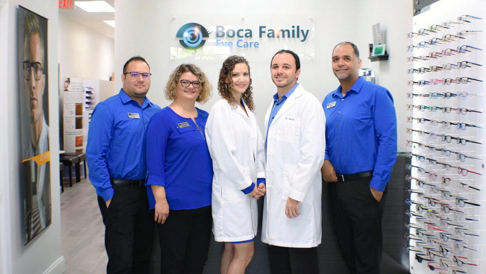 Get Your Eye Exam at Boca Family Eye Care