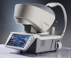topographer technology of boca family eye care